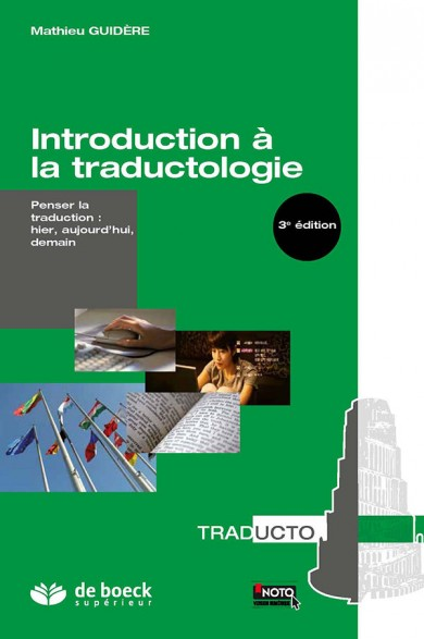 "Page de couverture de ""Introduction à la traductologie"""