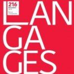 """Page de couverture de """"Langages"""""""