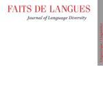 """Page de couverture de """"Faits de langue"""""""