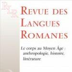 """Page de couverture de """"Revue des Langues Romanes"""""""
