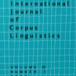 """Page de couverture de """"International journal of corpus linguistics"""""""