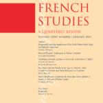 """Page de couverture de """"Frenche Studies"""""""