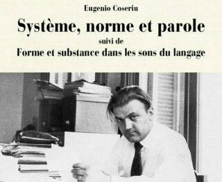 Page de couverture de Système, norme et parole