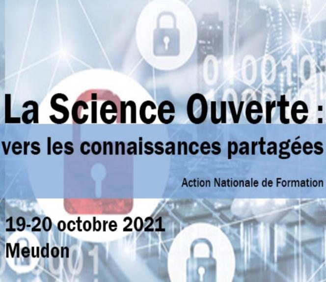 Evènement : anf Science Ouverte vers les connaissances partagées